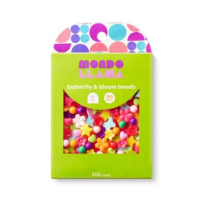 250ct Butterfly & Bloom Beads - Mondo Llama™