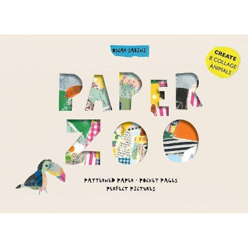Paper Zoo - by  Oscar Sabini (Hardcover) - image 1 of 1