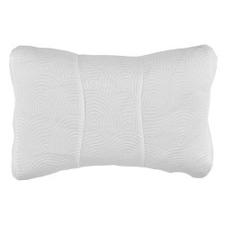 One Size Cool Luxury Contour Pillow Protector with Zipper Closure - Tempur-Pedic