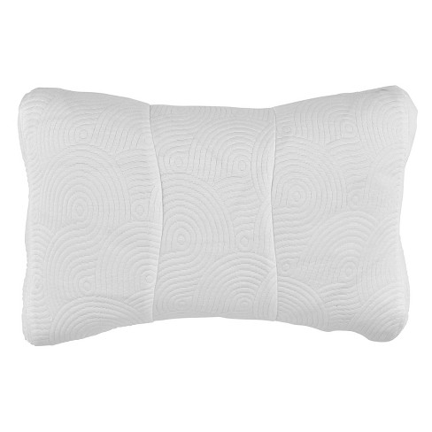 One Size Cool Luxury Contour Pillow Protector with Zipper Closure - Tempur-Pedic - image 1 of 3