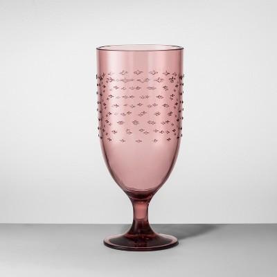 Plastic Goblet 18oz Purple - Opalhouse™