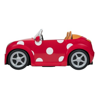 """Disney ILY 4ever 18"""" Large Accessory Minnie Mouse Inspired Coupe Car"""