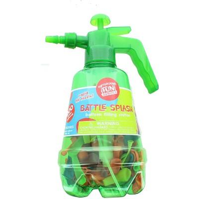 Anker Play Battle Splash Water Balloon Pump with 200 Balloons   Green