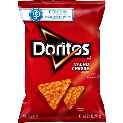 Doritos Nacho Cheese Tortilla Chips - 2.75oz