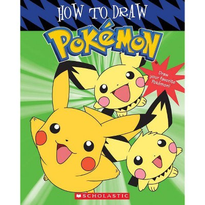 How to Draw Pokemon - by Tracey West (Paperback)