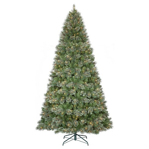 9ft Pre-Lit Artificial Christmas Tree Virginia Pine Clear Lights -  Wondershop™ - 9ft Pre-Lit Artificial Christmas Tree Virginia Pine : Target