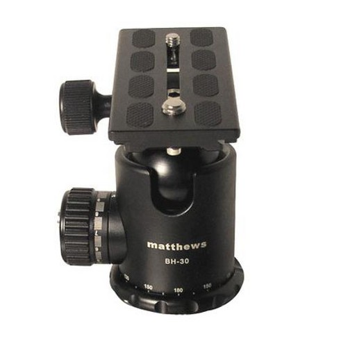 Matthews BH-30 Ball Head with Quick Release System, Supports 39 lbs. - image 1 of 1