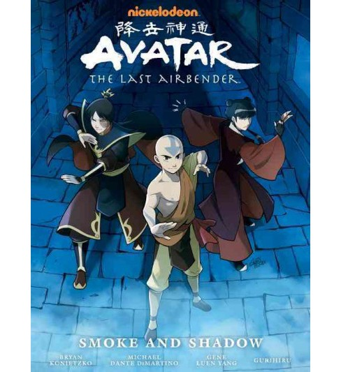 Avatar - the Last Airbender : Smoke and Shadow (Hardcover) (Gene Luen Yang) - image 1 of 1