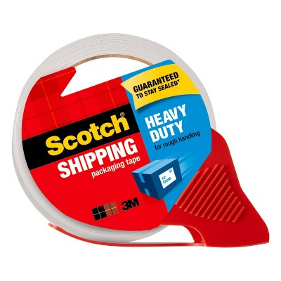 """Scotch Shipping Packaging Tape With Dispenser, Heavy Duty, 1.88"""" x 54.6yds"""