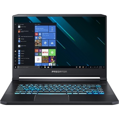 "Acer Predator Triton 500 - 15.6"" Intel Core i7-9750H 2.6GHz 32GB Ram 1TB HD W10H - Manufacturer Refurbished"