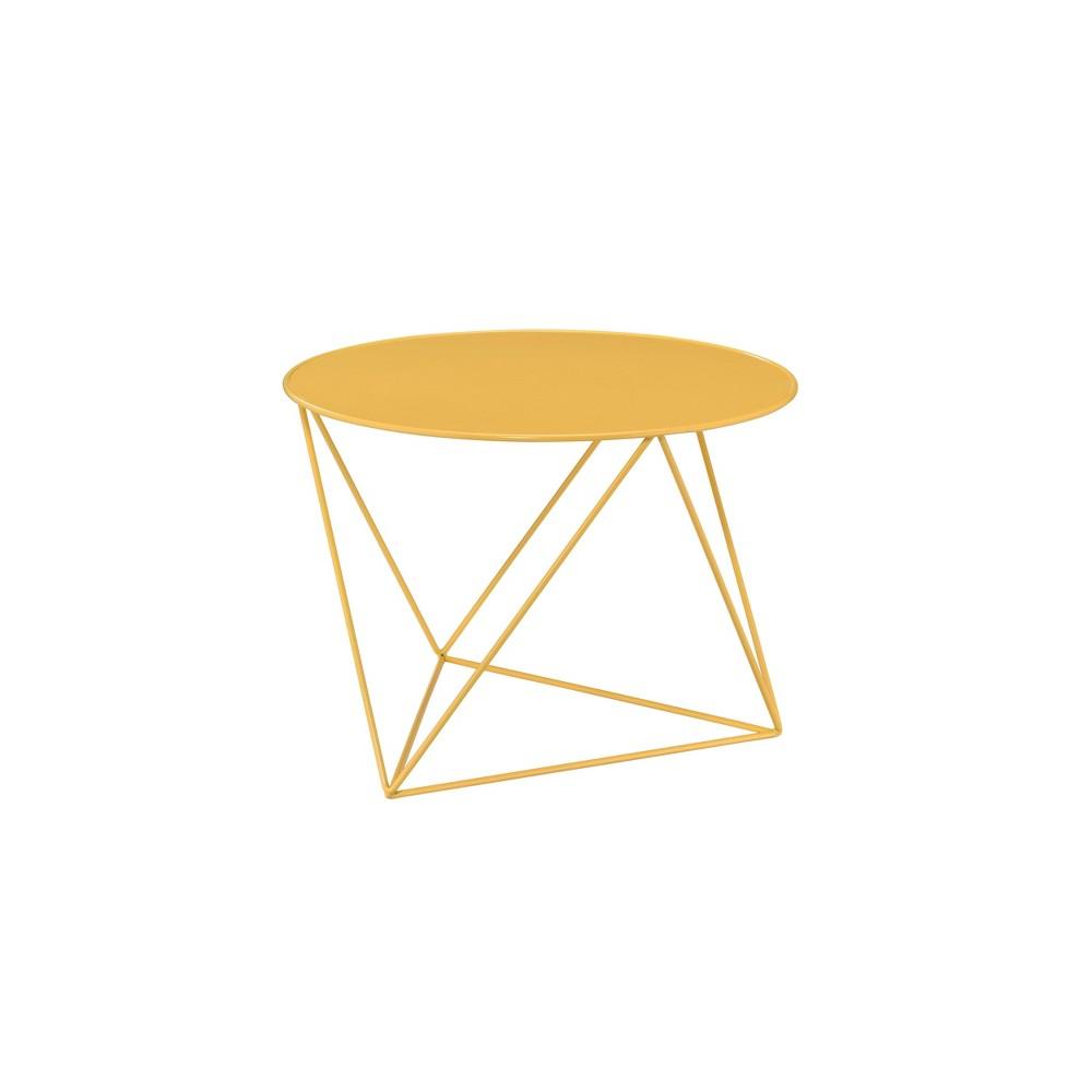 Epidia Accent Table Yellow Acme Furniture