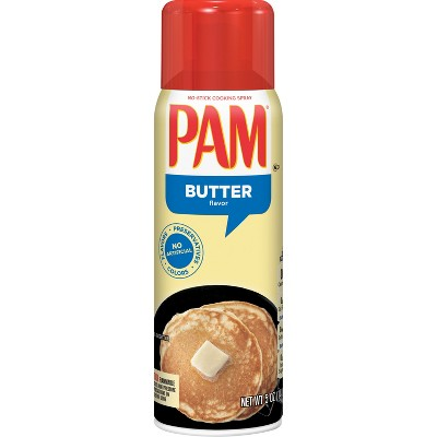 Cooking Spray: Pam Butter