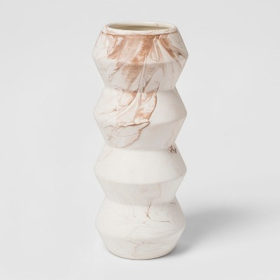 Vase Marbled - White/Brown - Project 62™