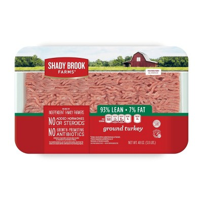 Shady Brook Farms 93/7 Ground Turkey - 3lbs