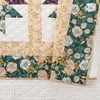 Bonnie Christine for Makers Collective 3pc Foraged Flora Quilt & Sham Set Green - image 4 of 4