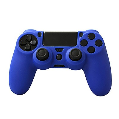 KMD PS4 Controller Grip Case Compatible with Sony PlayStation 4, Blue