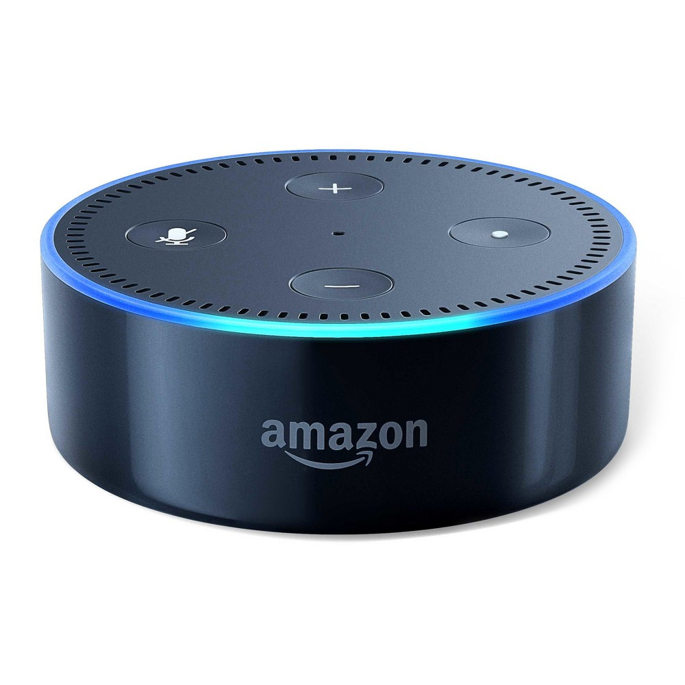 Amazon Echo Dot (2nd Generation) Alexa-enabled Bluetooth Speaker - Black