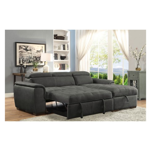 Cummingham Contemporary Converting Sectional Sofas Homes Inside Out