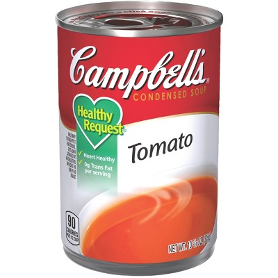 Soup: Campbell's Healthy Request
