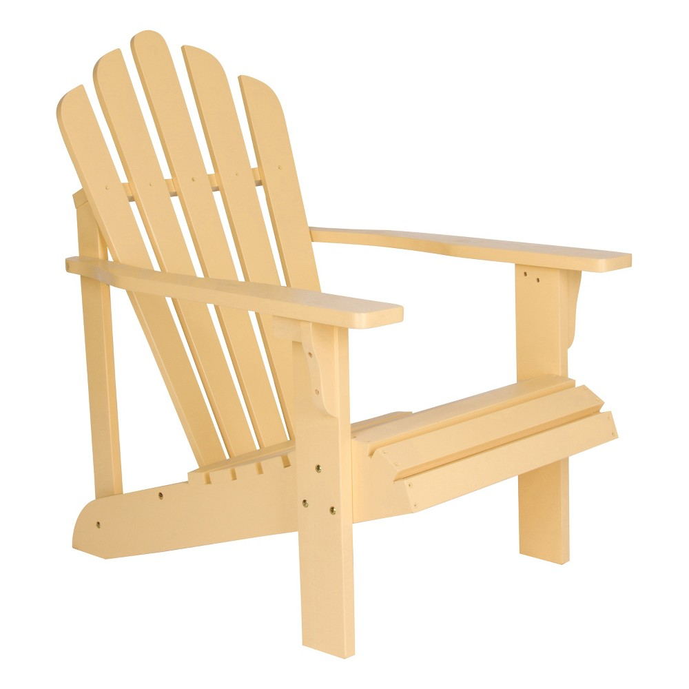 Image of Adirondack Chair - Soft Yellow - Shine Company