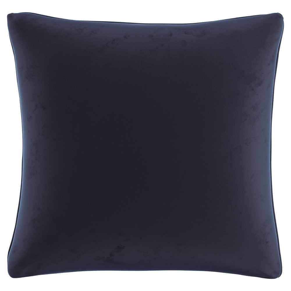Blue Velvet Throw Pillow (20