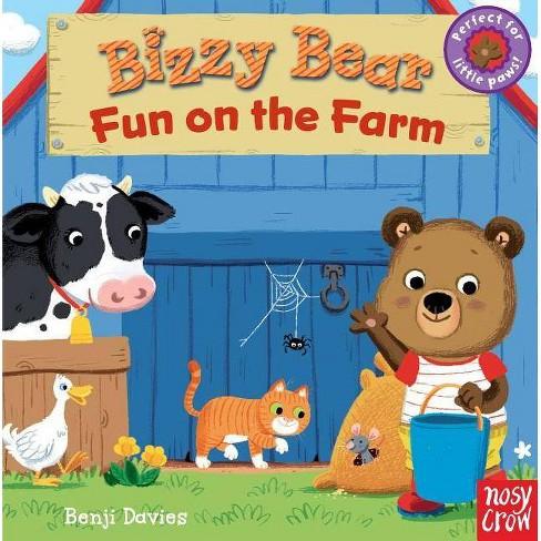 Bizzy Bear: Fun on the Farm - (Board_book) - image 1 of 1