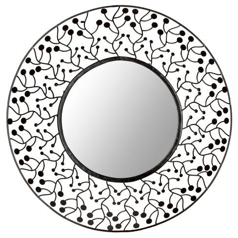 Round Tree Of Life Decorative Wall Mirror Bronze - Safavieh - image 1 of 4