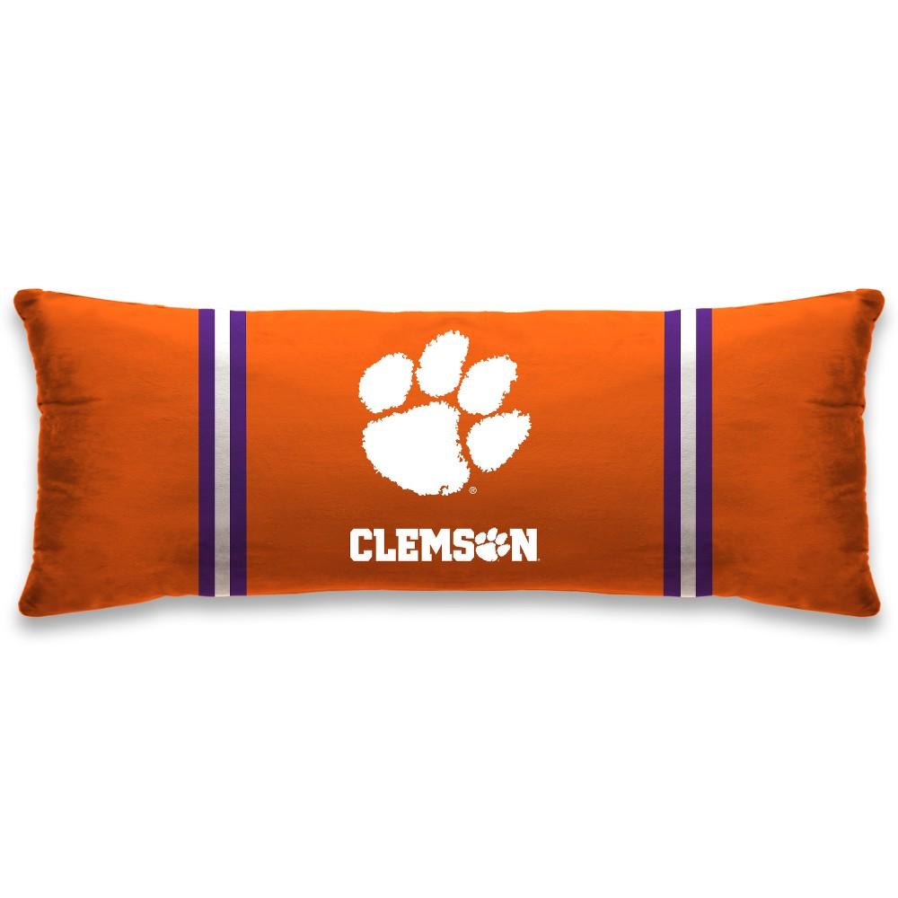 NCAA Clemson Tigers Plush Body Pillow