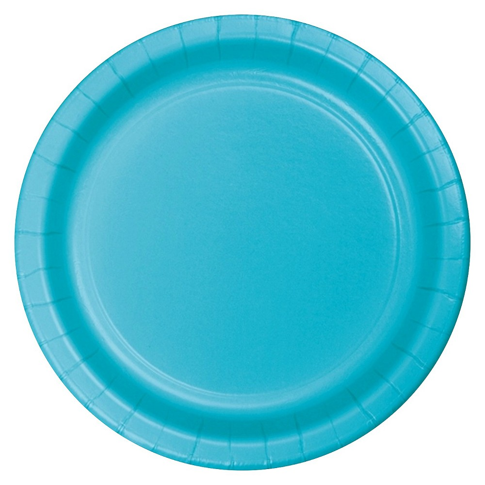 Bermuda Blue 7 Dessert Plates - 24ct Cheap