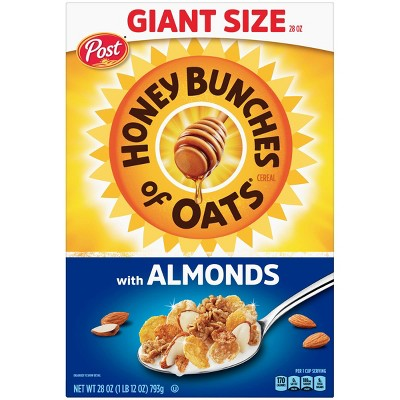 Honey Bunches of Oats with Almonds Breakfast Cereal - 28oz - Post