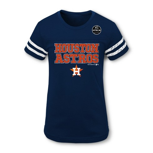 online retailer 3ac81 3dca2 MLB Houston Astros Girls' Double Play T-Shirt