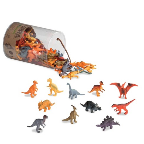 TERRA – Miniature Dinosaurs - Assorted Animal Playset (60 pc) - image 1 of 4
