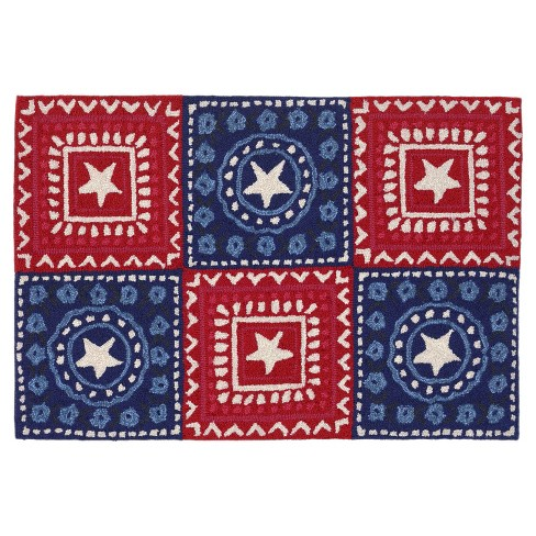 Frontporch Bandana Americana Rug - Liora Manne - image 1 of 1