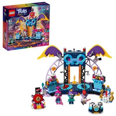 LEGO Trolls World Tour Volcano Rock City Concert Building Kit 41254
