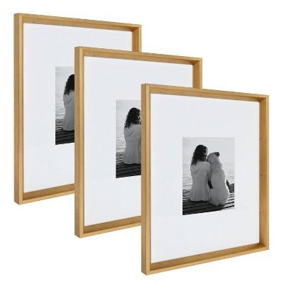 "16"" x 20"" Calder Wall Frame Gold - Kate & Laurel All Things Decor"