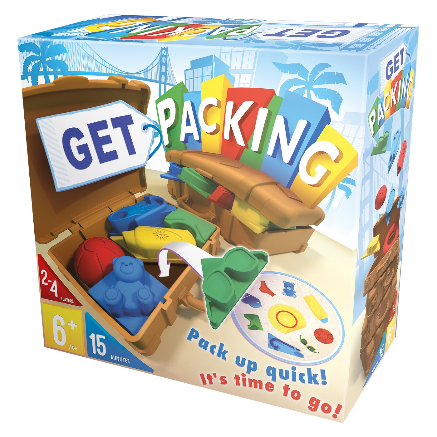 Asmodee - Get Packing Game - image 1 of 3