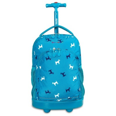 "J World Sunny 17"" Rolling Backpack"