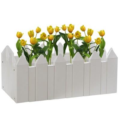 Gardenised Vinyl Planter Box Garden Bed Flower Pot
