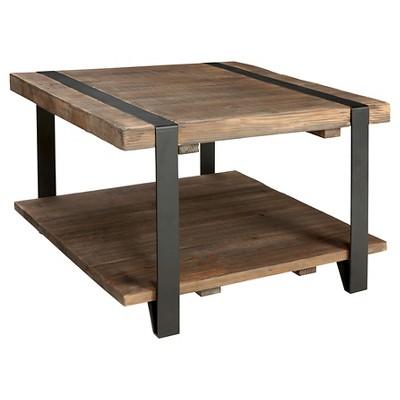 18  Coffee Table Brown - Alaterre Furniture®