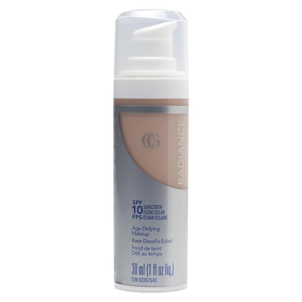 Covergirl Advanced Radiance Spf 10 Liquid Foundation Creamy Natural - 1oz