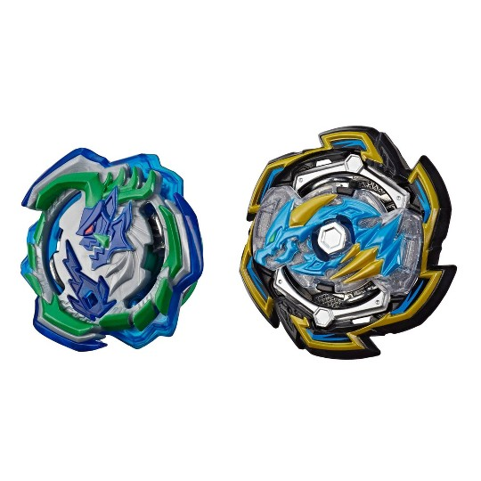 Beyblade Burst Rise Hypersphere Dual Pack Rock Dragon D5 and Ogre O5 image number null