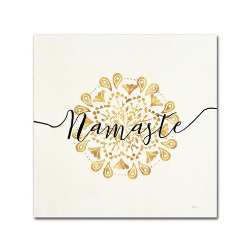 Namaste' by Veronique Charron Ready to Hang Canvas Wall Art - image 1 of 3