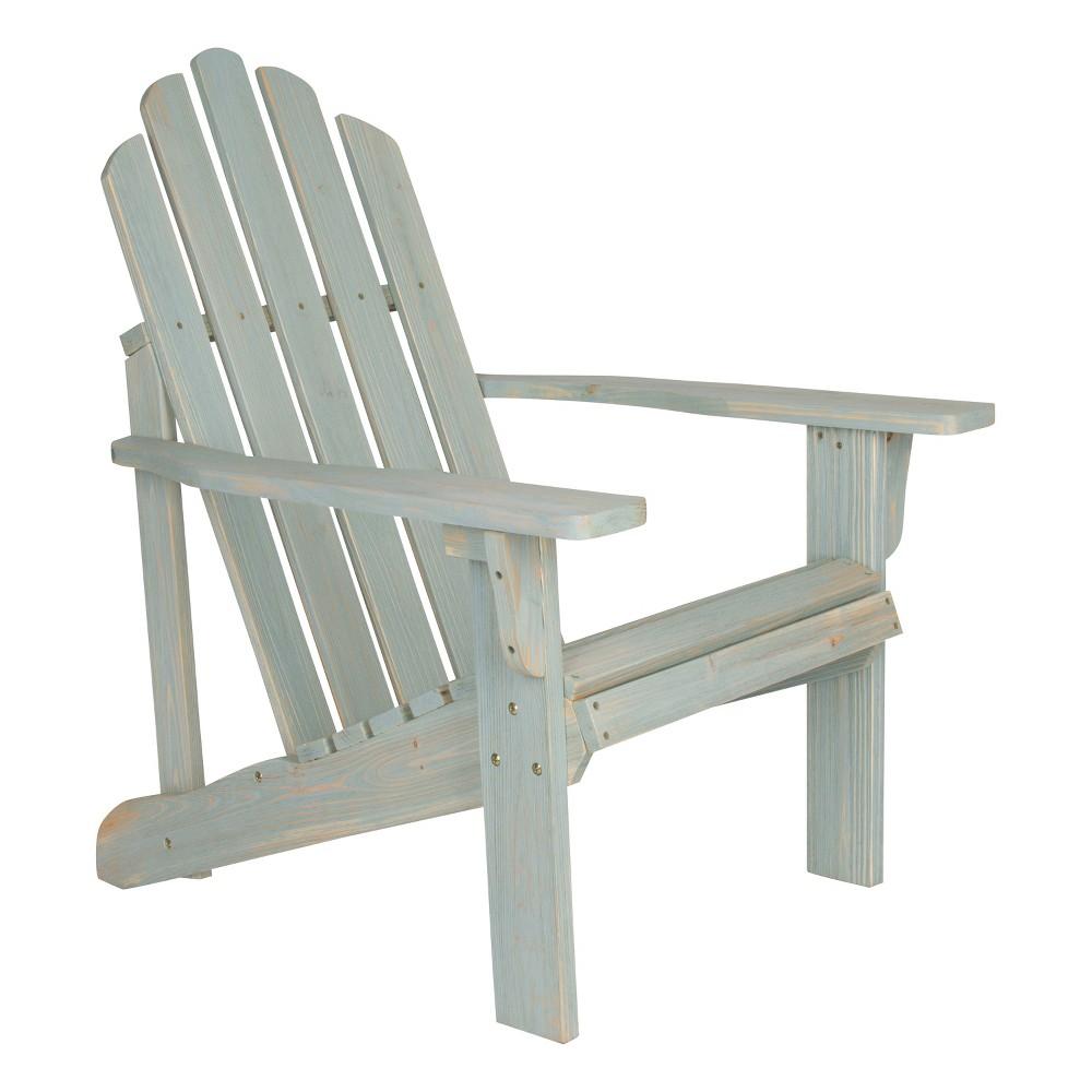 Marina Rustic Adirondack Chair Blue - Shine Company Inc.