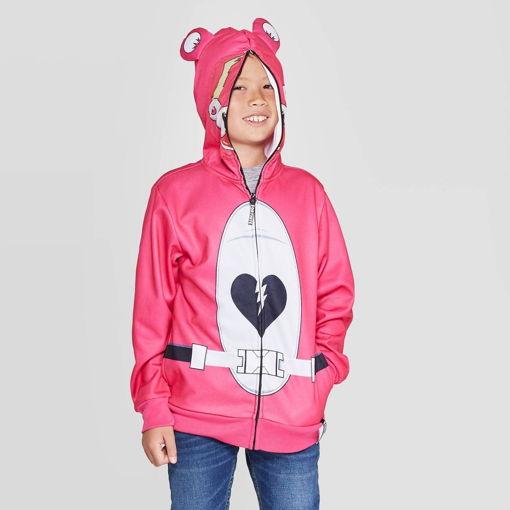 Image of Boys' Fortnite Sweatshirt - Pink L, Boy's, Size: Large