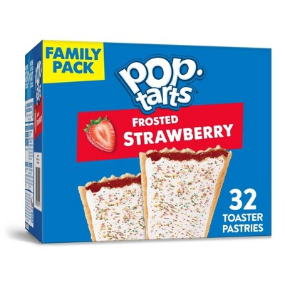 Pop Tarts Strawberry - 32ct/54.1oz - Kellogg's