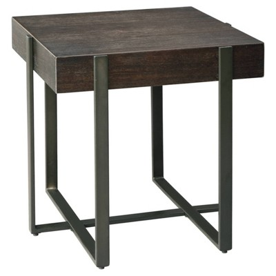 Drewing End Table Dark Brown - Signature Design by Ashley