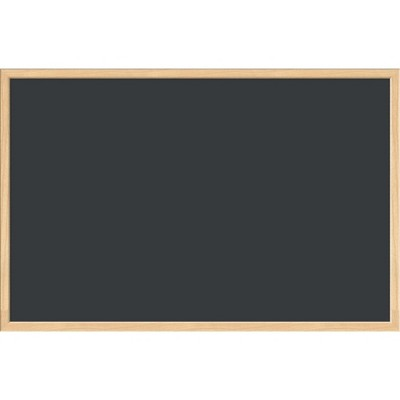 U Brands Chalkboard 35 x 23 Inches MDF Birch Frame 3263U00-01