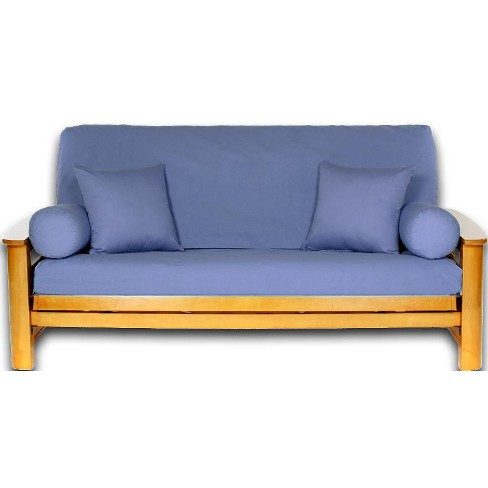 Ls Covers Slate Blue Full Futon Cover