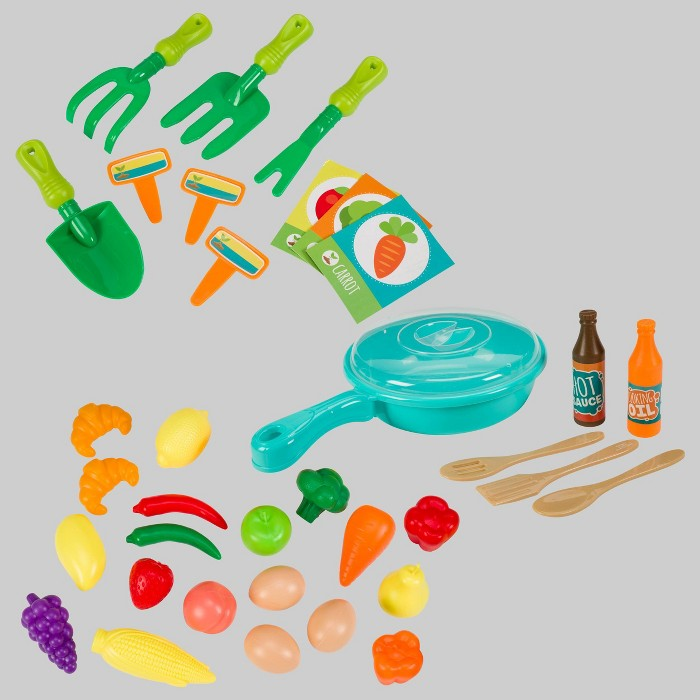 35pc Chef, Gardener Dress Up & Food Accessories - Toysmith - image 1 of 4