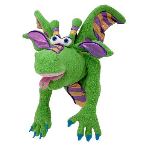 Melissa & Doug® Smoulder the Dragon Puppet With Detachable Wooden Rod for Animated Gestures - image 1 of 1